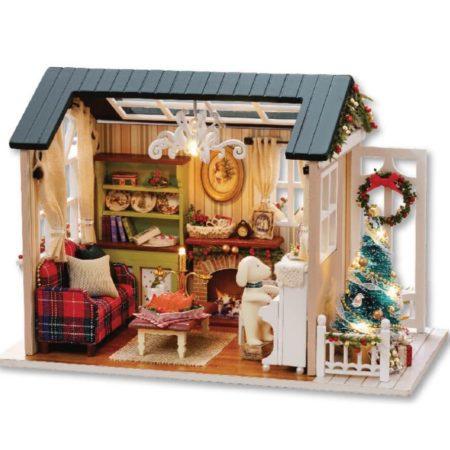 Румбокс DIY-Dom «Рождественская История»|«Christmas story»