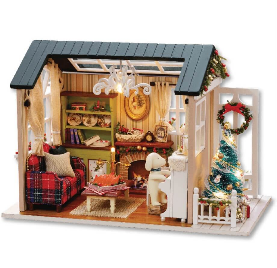 Румбокс DIY-Dom «Christmas story» 1