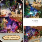 Румбокс DIY-Dom Box Theatre «Остров Приключений» «Island Adventures»