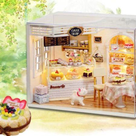 Румбокс DIY-Dom «Магазин Пирожных»|«Cake Shop»
