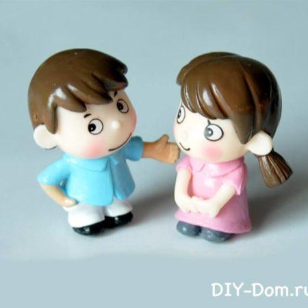 Куколки diy house