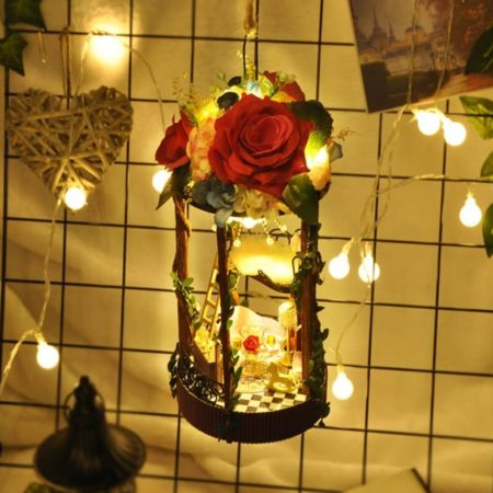 Румбокс DIY-Dom подвеска «Розовый Сад»|«Rose Garden»