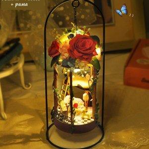 DIY подвеска «Rose Garden»