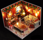 Румбокс DIY-Dom «Новогодняя хижина»