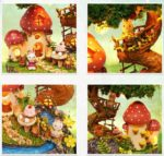 Румбокс DIY-Dom «Садовый Дневник» «The Garden Diary»