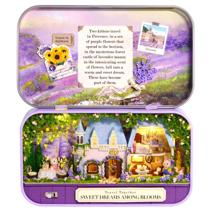 Box Theatre Sweet Dreams Among Blooms 1