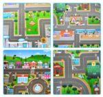 Игровой Коврик «Автомобильный Город» 200 х 180 х 0.5