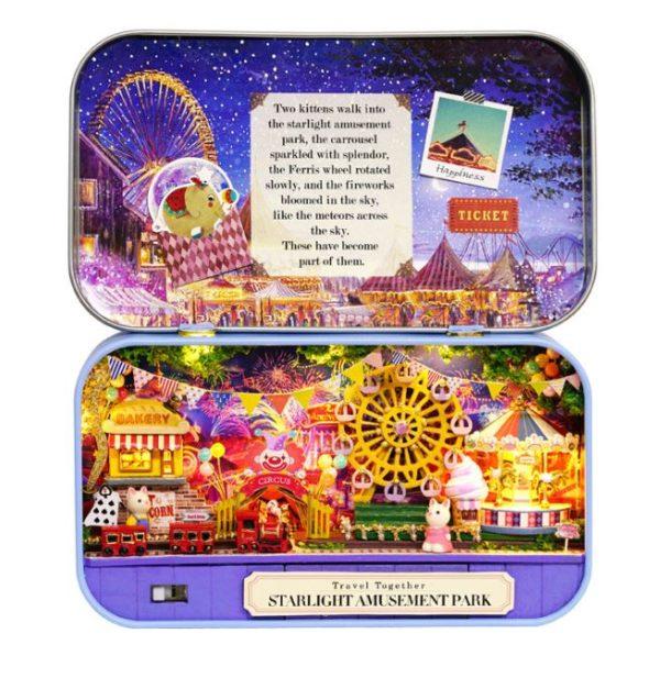 Румбокс DIY-Dom Box Theatre «Парк Развлечений»|«Starlight Amusement Park»