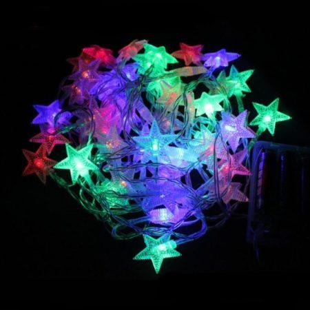 Гирлянда NEON-NIGHT Звездочки 10 LED 120 см