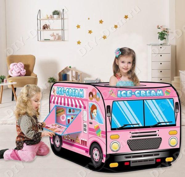 Игровой Домик Палатка Для Детей «Мороженица»
