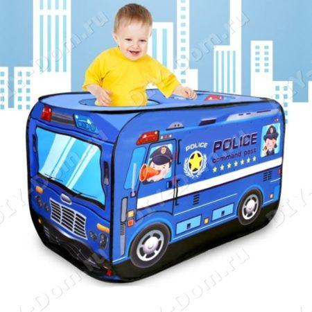 Игровой Домик Палатка Для Детей «Полицейский Автомобиль»