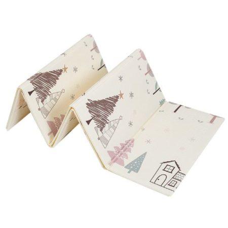Складной Игровой Коврик 200х150×1 см «Лисята и Снежный Лес»