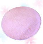 Круглый Плюшевый Коврик Для Игровой Палатки (Розовый)