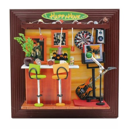 Румбокс DIY-Dom рамка «Рок-Бар»