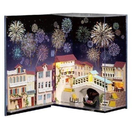 Румбокс DIY-Dom в книге «Новогодний салют в Венеции»